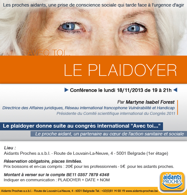 Le Plaidoyer