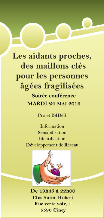 Conférence Aidants Proches